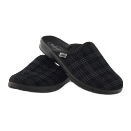 Befado obuwie męskie pu 548M003 czarne 4