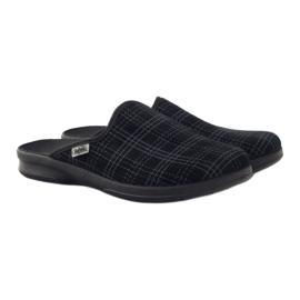 Befado obuwie męskie pu 548M003 czarne 5