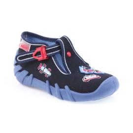 Befado obuwie dziecięce 110P305 granatowe 2