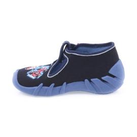 Befado obuwie dziecięce 110P305 granatowe 3