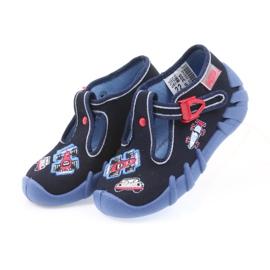 Befado obuwie dziecięce 110P305 granatowe 4