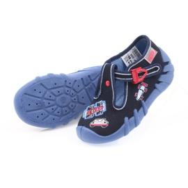 Befado obuwie dziecięce 110P305 granatowe 5