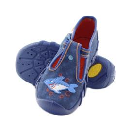 Befado obuwie dziecięce 110P297 niebieskie 5