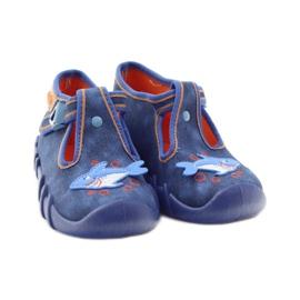 Befado obuwie dziecięce 110P297 niebieskie 6