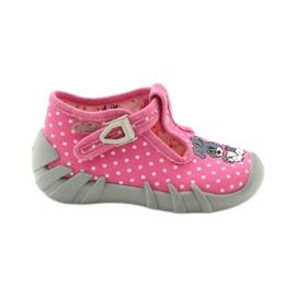 Befado obuwie dziecięce 110P293 różowe 2