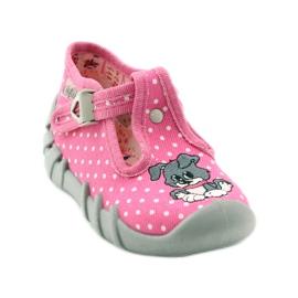 Befado obuwie dziecięce 110P293 różowe 3