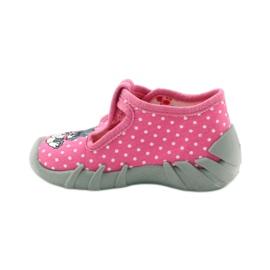 Befado obuwie dziecięce 110P293 różowe 4