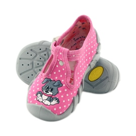 Befado obuwie dziecięce 110P293 różowe 5