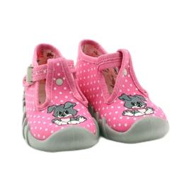 Befado obuwie dziecięce 110P293 różowe 6