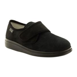 Befado obuwie damskie pu 036D007 czarne 2