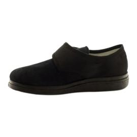 Befado obuwie damskie pu 036D007 czarne 3