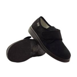 Befado obuwie damskie pu 036D007 czarne 4