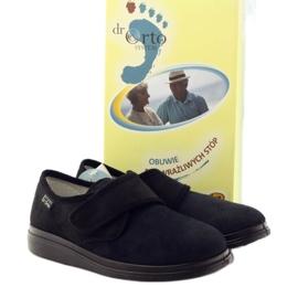 Befado obuwie damskie pu 036D007 czarne 5