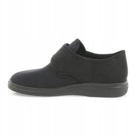 Befado obuwie damskie pu 036D006 czarne 3