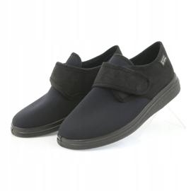 Befado obuwie damskie pu 036D006 czarne 5