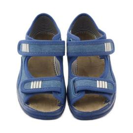 Befado obuwie dziecięce 113X010 niebieskie 5