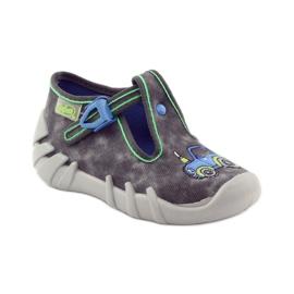 Befado szare obuwie dziecięce 110P316 2