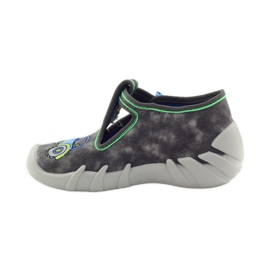 Befado szare obuwie dziecięce 110P316 3