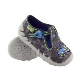 Befado szare obuwie dziecięce 110P316 4
