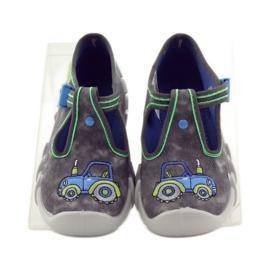 Befado szare obuwie dziecięce 110P316 5