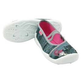 Befado obuwie dziecięce 116Y229 szare wielokolorowe 5
