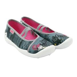 Befado obuwie dziecięce 116Y229 szare wielokolorowe 6