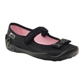 Befado obuwie dziecięce 114Y240 czarne 2