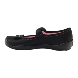 Befado obuwie dziecięce 114Y240 czarne 3