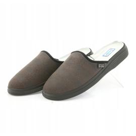 Befado obuwie męskie  pu 125M012 szare 4
