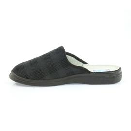 Befado obuwie męskie  pu 125M011 czarne szare 3