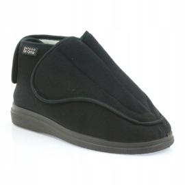 Befado obuwie damskie pu orto 163D002 czarne 2