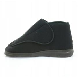 Befado obuwie damskie pu orto 163D002 czarne 3