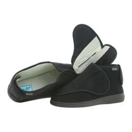 Befado obuwie damskie pu orto 163D002 czarne 4