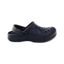 Befado inne obuwie dziecięce- granat 159X003 granatowe 1