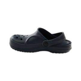 Befado inne obuwie dziecięce- granat 159X003 granatowe 3