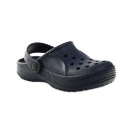 Befado inne obuwie dziecięce- granat 159X003 granatowe 2