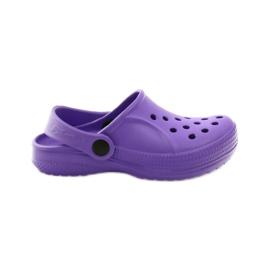 Befado inne obuwie dziecięce - fiolet 159X002 fioletowe 1