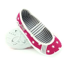 Befado obuwie dziecięce 193X063 różowe 4
