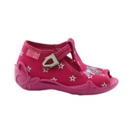 Befado różowe obuwie dziecięce 213P102 2