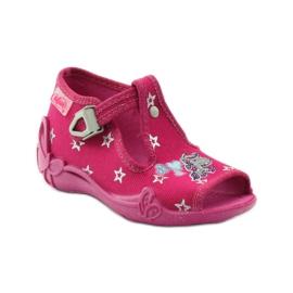 Befado różowe obuwie dziecięce 213P102 3
