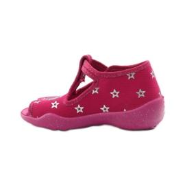 Befado różowe obuwie dziecięce 213P102 4