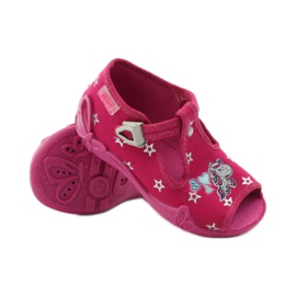 Befado różowe obuwie dziecięce 213P102 5