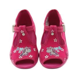 Befado różowe obuwie dziecięce 213P102 6