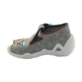 Befado obuwie dziecięce 217P089 szare 3