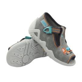 Befado obuwie dziecięce 217P089 szare 4