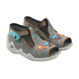 Befado obuwie dziecięce 217P089 szare 5