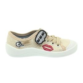 Befado obuwie dziecięce 251X098 brązowe 2