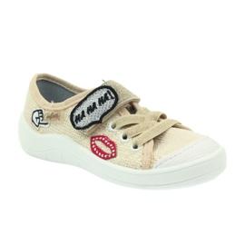 Befado obuwie dziecięce 251X098 brązowe 3
