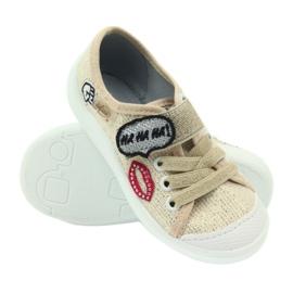 Befado obuwie dziecięce 251X098 brązowe 5
