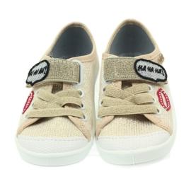 Befado obuwie dziecięce 251X098 brązowe 6